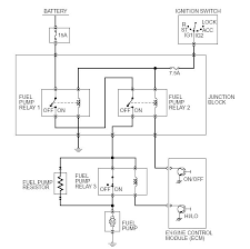 does the stock fuel pump use a solid state relay net does the stock fuel pump use a solid state relay
