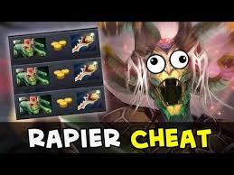 rapier cheat beware of scripts hacks in dota youtube