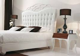 elegant beds Luxurious White Beds