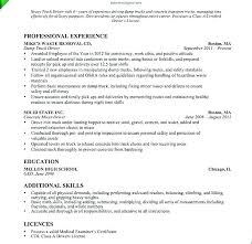 Truck Driver Resume Example Delivery Driver Resume Sample Delivery