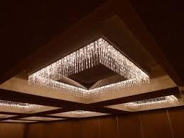 delightful low profile chandelier 1
