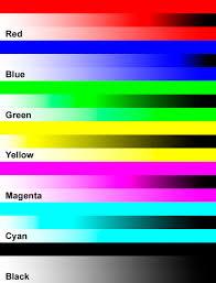Inkjet Color Print Test Pagel Duilawyerlosangeles