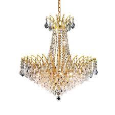 elegant lighting victoria 24 11 light elegant crystal chandelier ceiling lights best canada