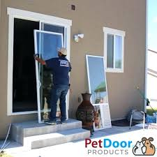 installing doggie door pet door installation install dog door wall stud