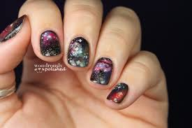 Wondrously Polished: 31 Day Nail Art Challenge - Day 19: Galaxies