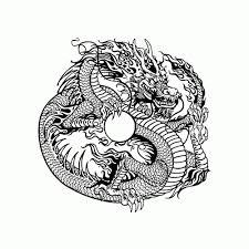 Kleurplaten Chinese Draak