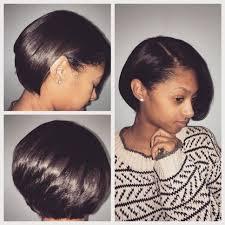 Hairstyles Natural Hair Bob Cut And Blowout Silk Press Luxe