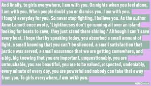 The powerful letter a victim read to her sex attacker in court.