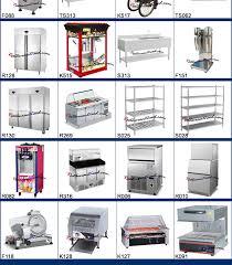 restaurant kitchen equipment list. Fast Food Restaurant Kitchen Equipment Photo. List C
