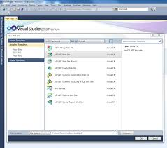 visual studio 2010 website templates visual studio 2010 website project templates the lexicon of software