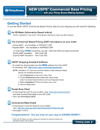 Postal Rate Chart Pdf New Usps Commercial Base Pricing Manualzz Com