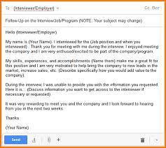 thank you letter after application 3 interview follow up email sample expense report