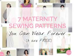 Clothing Sewing Patterns Magnificent 48 Maternity Sewing Patterns You Can Wear Forever 48 Are Free Sew