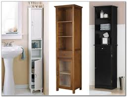 Narrow Linen Cabinet Tall Narrow White Linen Cabinet Cabinet Home Decorating Ideas