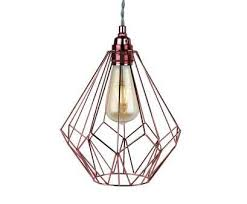 how to wire a pendant light fitting uk best details about contemporary geometric copper wire ceiling