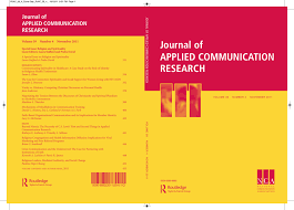 Journal of APPLIED COMMUNICATION RESEARCH
