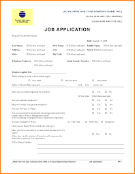 9 job application form template word ledger paper job application form template word