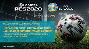 UEFA EURO 2020™ Update Coming June 4   PES - eFootball PES 2020 Official  Site