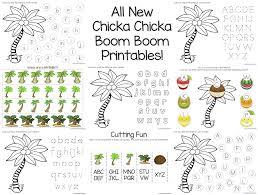 Chicka Chicka Boom Boom Theme Printables   Chicka chicka, Chicka ...