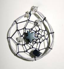 How To String Dream Catcher Guitar String Dream Catcher Pendant by TwistedChords on Etsy 99