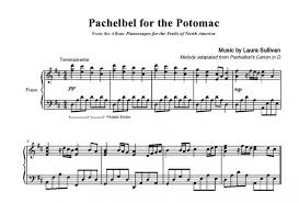 Find all styles of music at great prices. Pachelbel For The Potomac Sheet Music Canon By Pachelbel Arranged Laura Sullivan