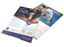 How To Do Flyers Design Auto Brochures Flyers More Mycreativeshop