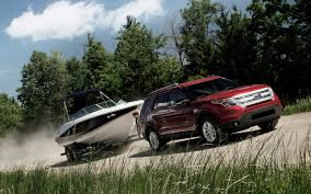 Ford Explorer Towing Capacity Chart Crossovers Can Tow We Checked The Numbers Truck Trend
