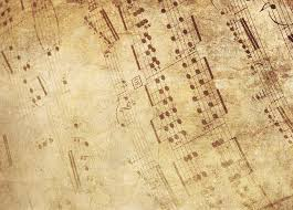 background music. Simple Music Background Old Fashioned Music Sheet Music In Background K