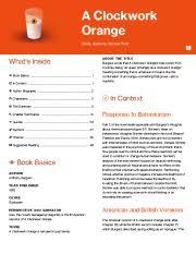 english a clockwork orange essay william byun english a a a clockwork orange thumbnail