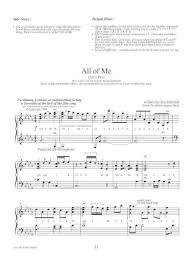 • again the numbers in the first section are for the rhythm impaired. Jon Schmidt All Of Me Piano Sheet Music Pdf Document