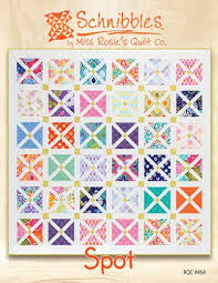 128 best Miss Rosies Quilts---Carrie Nelson images on Pinterest ... & Spot Schnibbles Quilt Pattern for Charm Packs from Miss Rosie's Quilt ... Adamdwight.com