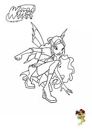 Leyla Winx Club Coloring Pages For