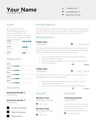 Resume Pro Professional Resume Design 3 Covmark Designs