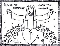 Love One Another Coloring Pages Epic Love One Another Coloring ...