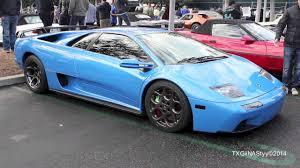 Blue Ely Lamborghini Diablo VT 6.0 - YouTube