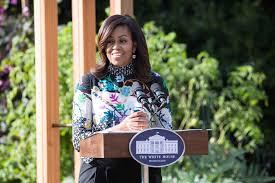 Michelle Obama Kitchen Garden Michelle Obama Dedicates White House Garden In Emotional Ceremony