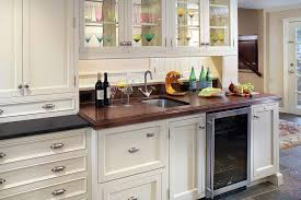 diffe types of countertops kitchen traditional with bar sink bin pulls
