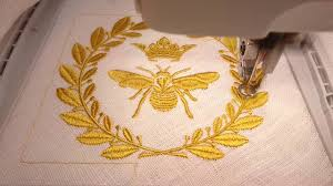 Machine Embroidery Design Royal Bee By Royal Present Embroidery - Home machine embroidery designs