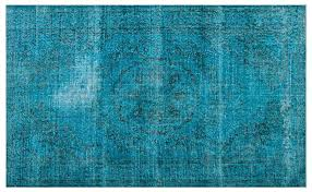turquoise overdyed rug turquoise over dyed vintage rug x target threshold overdyed turquoise rug