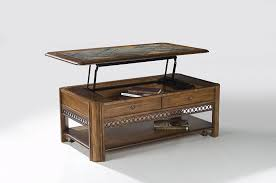 pop up coffee table in the home mid century pop up storage coffee table