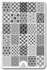 Lina Nail Art Supplies Stamping Plate – Feeling Shapely! 08   Nail ...