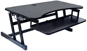picnic office design. Comfortable Rocelco Standing Desk For Your Office Design: Black Height Adjustable Picnic Design