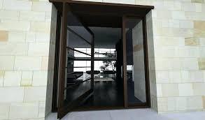 terrific steel entry doors with glass pivot front door glass steel segmented modern glass door with