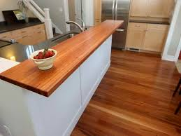 wood laminate countertops for modern kitchen design with nice wood