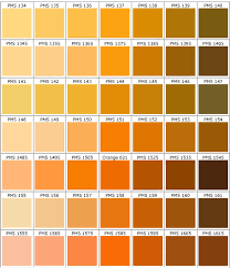 Shades Of Orange Color Chart Shades Of Orange Color Chart Www Bedowntowndaytona Com