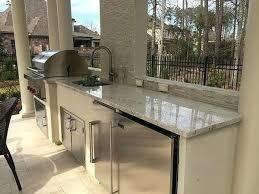 outdoor kitchen countertops white river granite outdoor kitchen outdoor kitchen tile countertop ideas