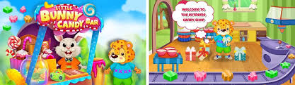 Little Bunny Candy Bar Apk Download latest android version 1.0.1-  com.gameiva.littlebunnycandybar