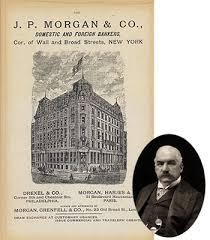 「1901 John Pierpont Morgan established US Steel」の画像検索結果