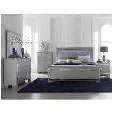 Isabel Gray 4-Piece Queen Bedroom Set | El Dorado Furniture