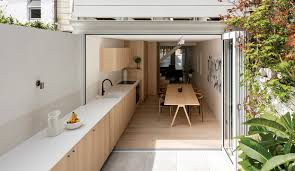 an indoor outdoor kitchen in sydney